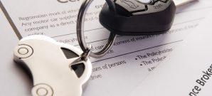Car Keys On Insurance Documents