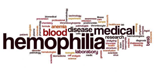 Hemophilia word cloud